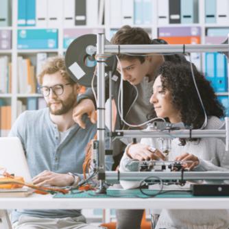 Multidisciplinary engineering team with the latest tools